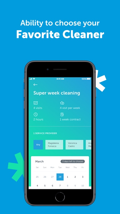 MATIC - Home Cleaning Service screenshot-6