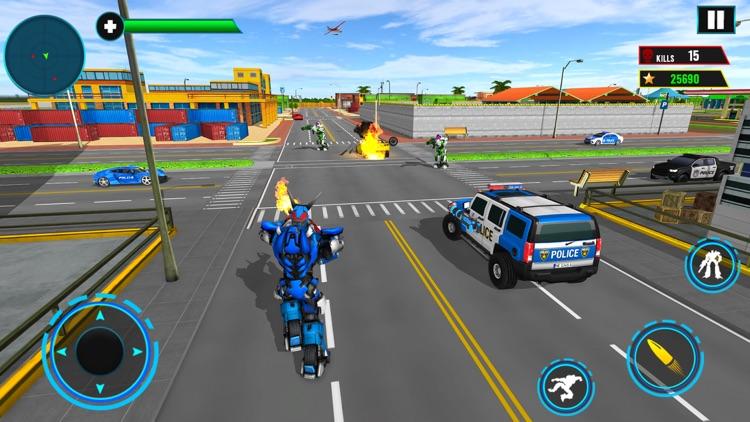 Elephant Robot Transport Game screenshot-7