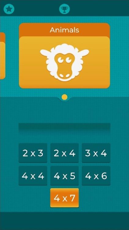Pairs. Logical thinking game screenshot-5