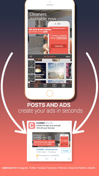 Post & Ad Creator for Social screenshot-1