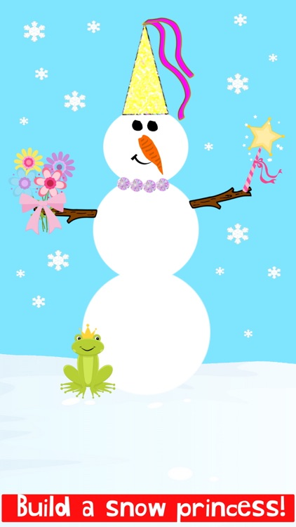 Christmas Train Snowman Games screenshot-7
