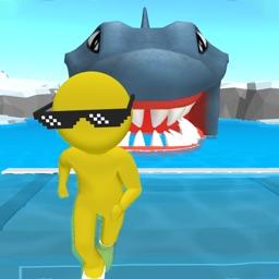 Survival Raft : Human VS Shark