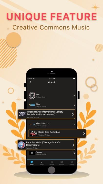 Music Player ๏ screenshot-4