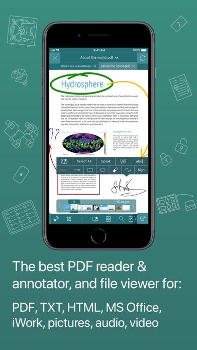 GoodReader app image