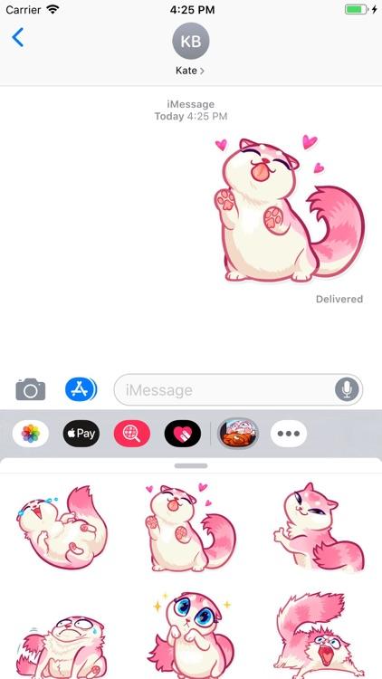 Nala Cat Stickers Pack screenshot-4