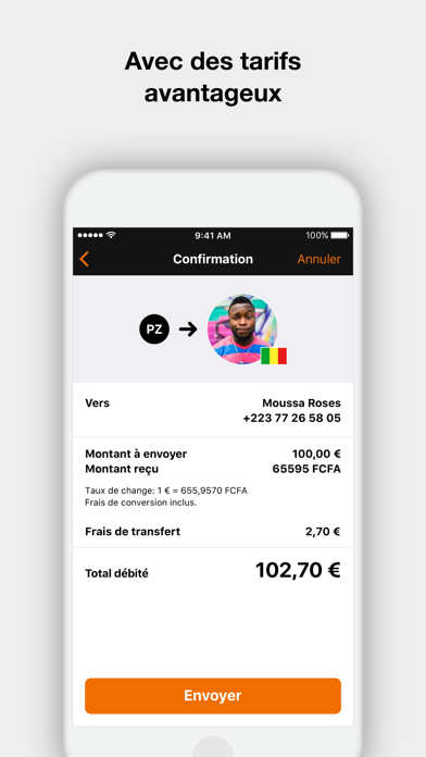 Orange Money France screenshot three