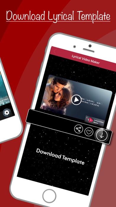 Screenshot for Lyrical Video Maker in Pakistan App Store