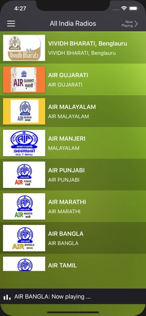 All India Radios-AIR Stations on the App Store