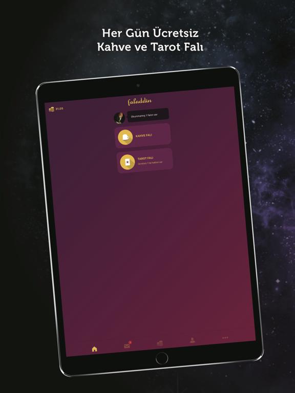 Faladdin - Kahve Falı, Tarot ipad ekran görüntüleri