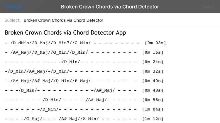 The Chord Detector screenshot-4