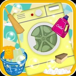 Wash laundry & Iron Clothes