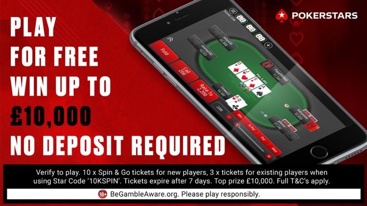 PokerStars Texas Holdem Poker screenshot-0