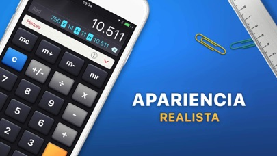 Screenshot for Calculadora HD in Argentina App Store
