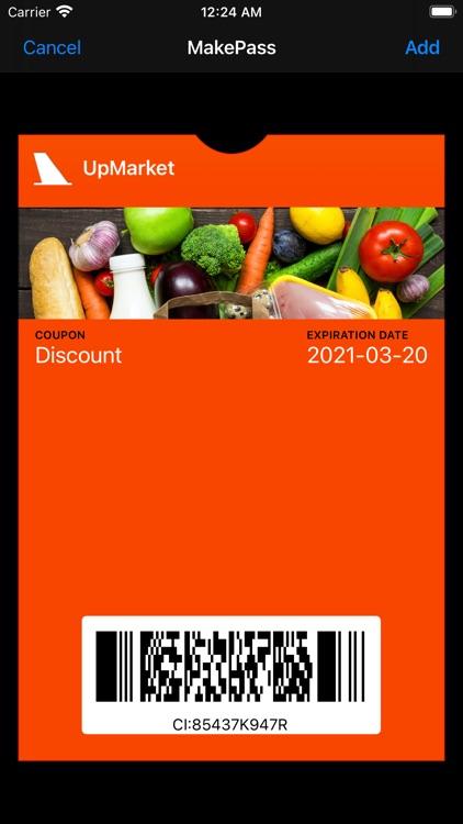 MakePass: Barcode to Wallet screenshot-5