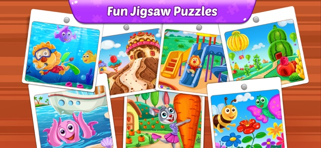 Puzzle Kids - Jigsaw Puzzles on the App Store