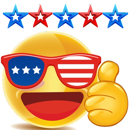 Thumbs Up USA Stickers