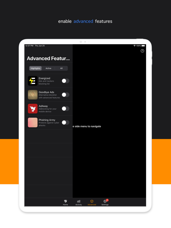 Blokada screenshot 12
