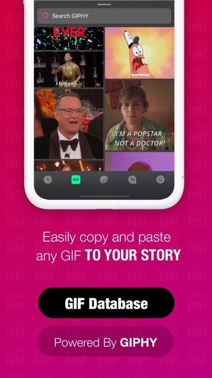 StoryFont: for Instagram Story screenshot-4