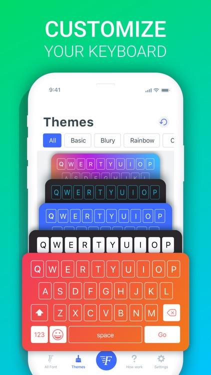 Fonts X - Keyboard for iPhone screenshot-3
