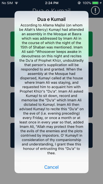 Dua e Kumail with Translations on the App Store - iTunes - Apple