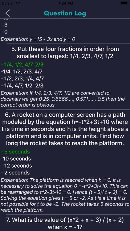 ACCUPLACER Test Prep 2020 screenshot-6