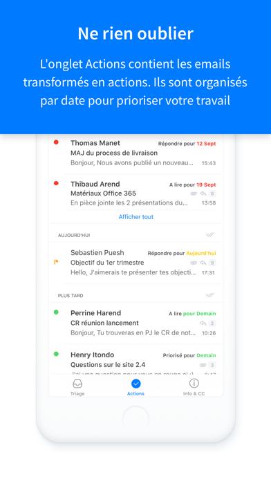 Screenshot #3 pour Timyo Email