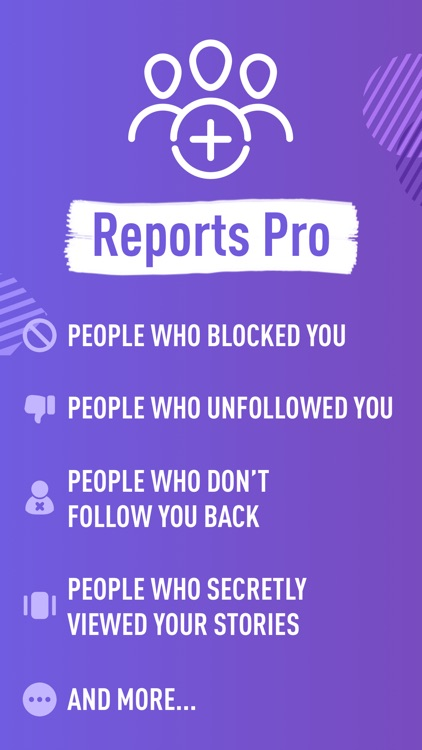Reports Pro for Instagram