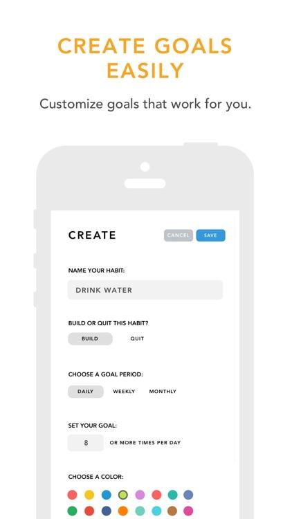 Done: A Simple Habit Tracker screenshot-6
