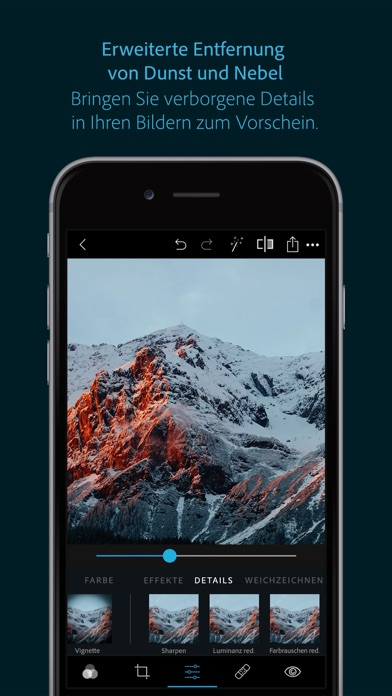 Screenshot for Photoshop Express-Fotoeditor in Austria App Store