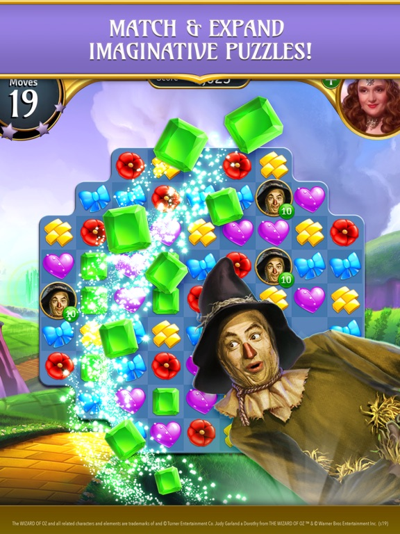 The Wizard of Oz Magic Match 3のおすすめ画像4