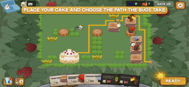 Defend the Cake Tower Defense Screenshot