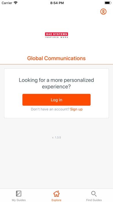 Global Communications Events screenshot two