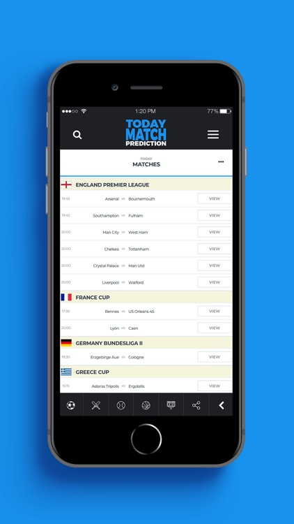 Today Match Prediction by goalsnow, lda