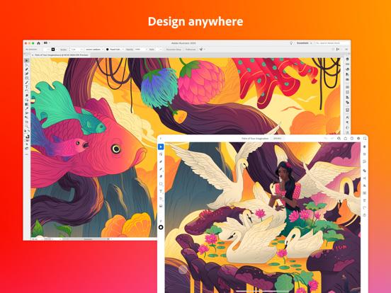 iPad Image of Adobe Illustrator