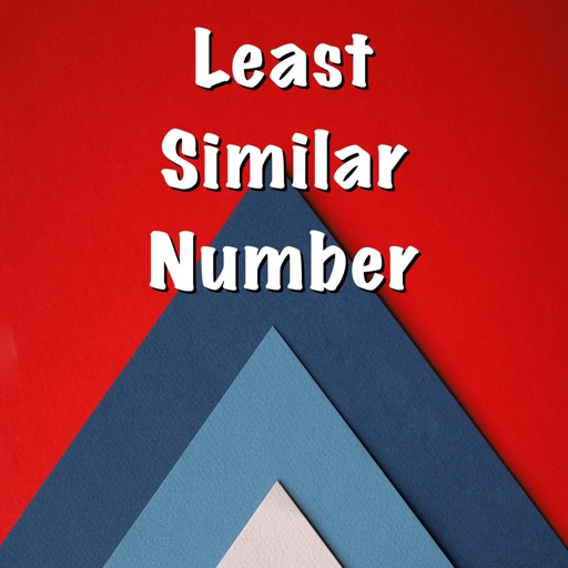 Least Similar Number icon