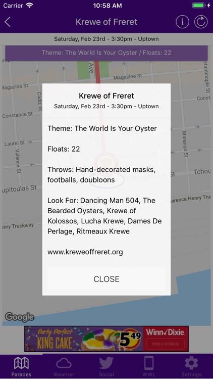 WWL Mardi Gras Parade Tracker screenshot-3