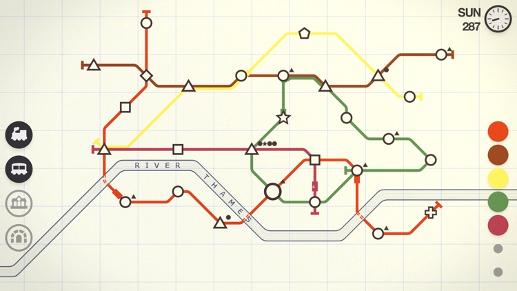 Mini Metro screenshot-1