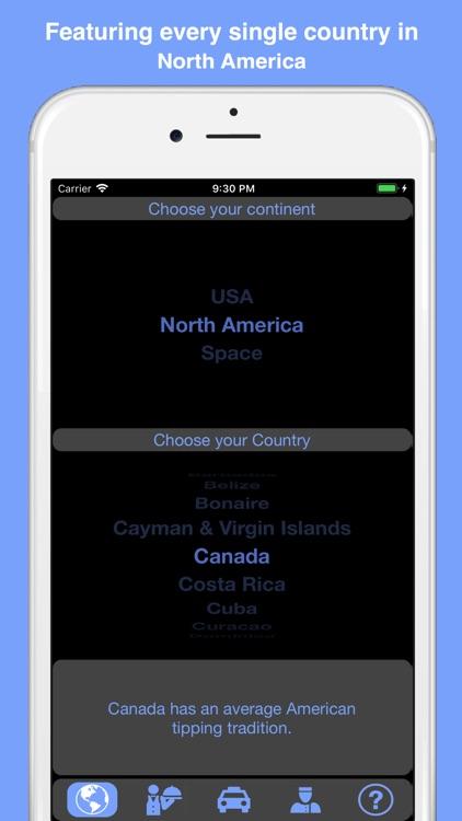 North America Tip Calculator screenshot-3