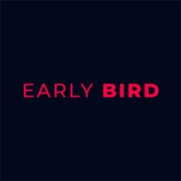 Early Bird - Book & save 33%