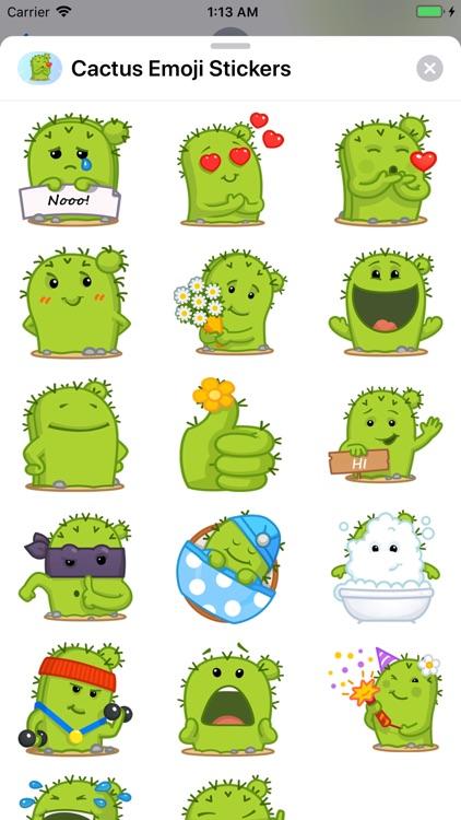 Cactus Emoji Stickers screenshot-3