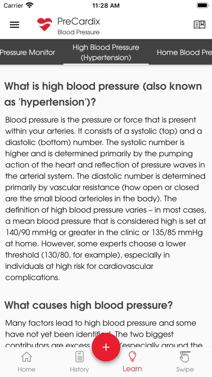 PreCardix Blood Pressure screenshot-7