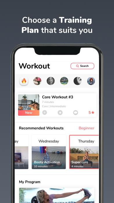 Gymnadz - Women's Fitness Appのおすすめ画像2