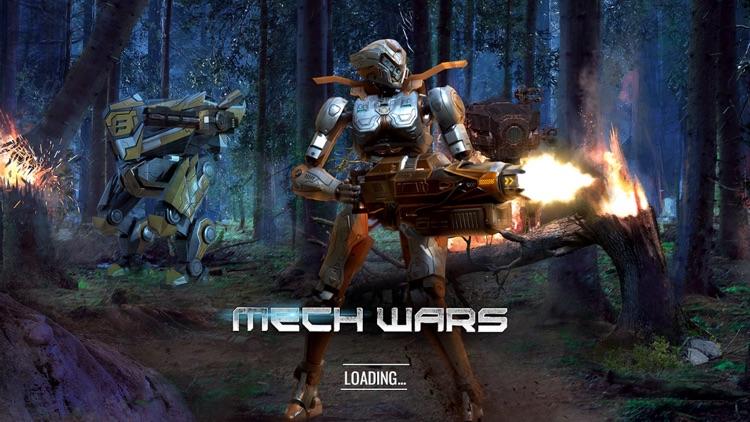 Mech Wars -Online Robot Battle screenshot-5