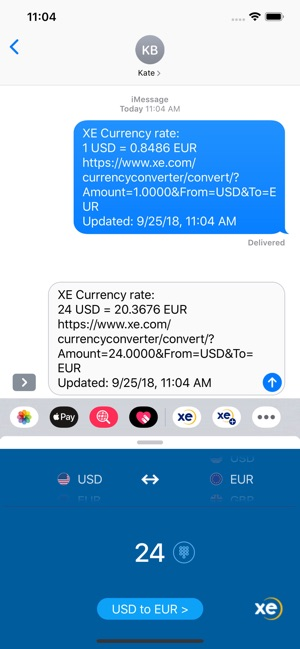 Xe Currency Converter Pro On The