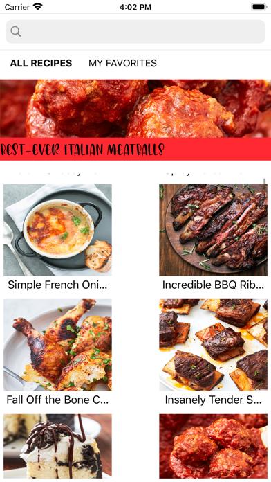 Recipes for Insta Pot Screenshot