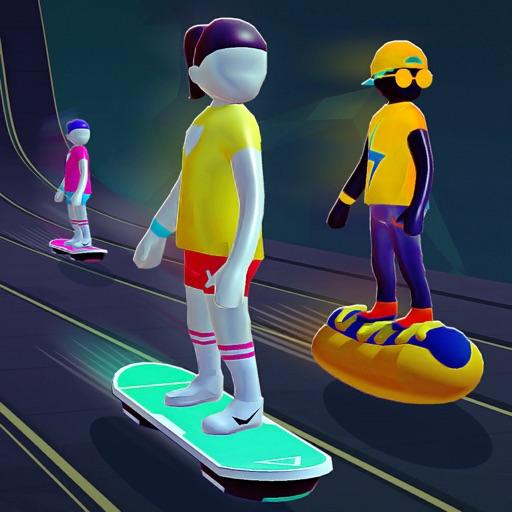 Hoverboard Racing Multiplayer iOS App