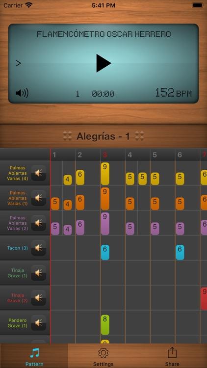 Flamencómetro Oscar Herrero screenshot-0