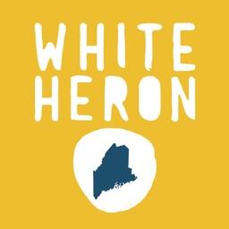 White Heron Maine