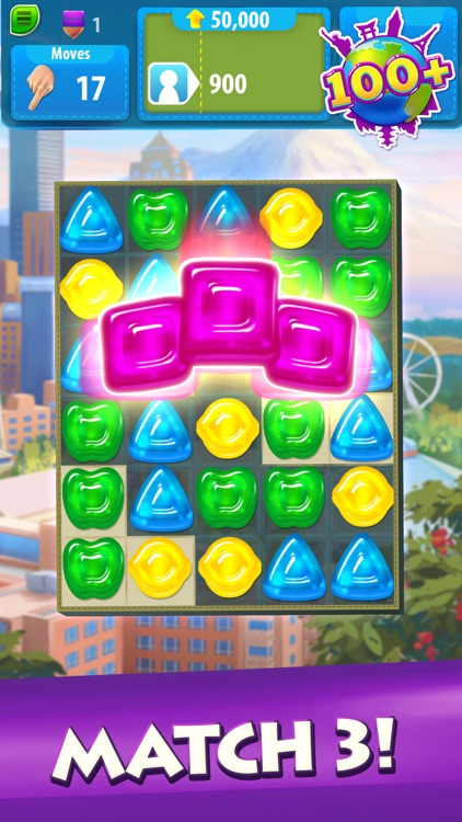 Gummy Drop! Match 3 Puzzles screenshot-0