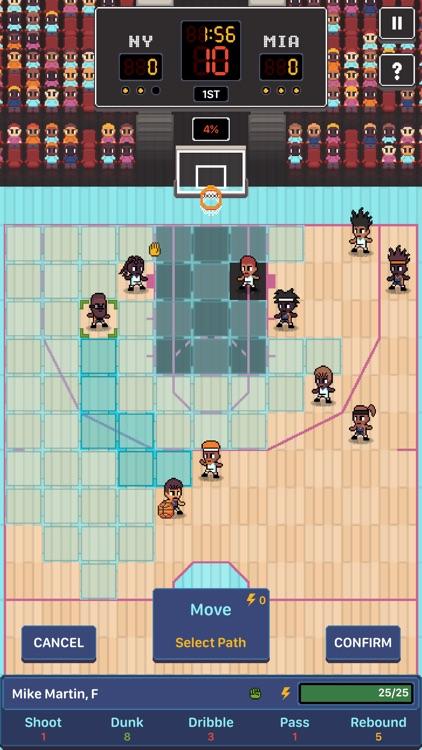 Hoop League Tactics screenshot-4